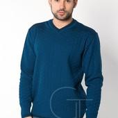 Мужской теплый шерстяной свитер