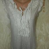 Блуза трикотажная с воланами per una