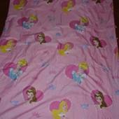 Полуторная постель постельное белье Принцессы Дисней Disney