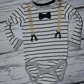 Фирменный бодик человечек джентльмен новорожденному для куклы кукол одежда беби берна Baby born