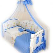 Акция! Детская постель Twins Comfort Горошки C-020