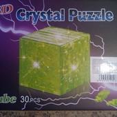 Кристальный куб пазл 3D