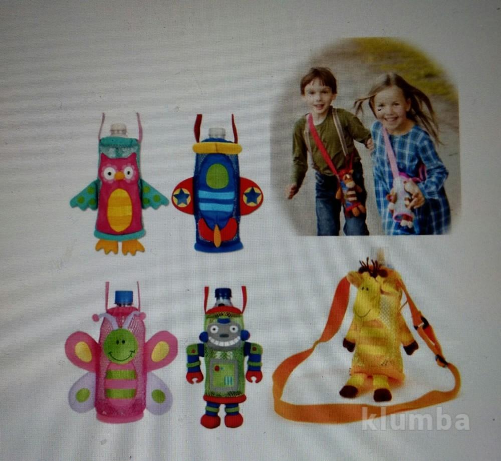 Детская сумочка на плече, для бутылочек в виде жирафа, новая фото №1