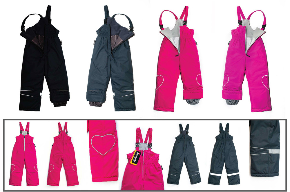 Tm janda - полукомбинезон зимний, детский, термо, лыжный, аналог reima columbia фото №1