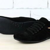 Мужские  туфли  замшевые