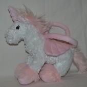 Сумочка сумка мягкая единорог лошадка Для маленьких принцесс