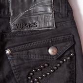 Чёрные  джинсы Please, р.36