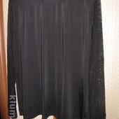 Скидка - водолазка женская новая (черная,рукава сетка) 60 грн