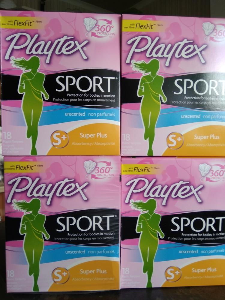 Качественные  тампоны playtex sport из сша фото №1