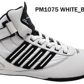 Мужские кроссовки 35-45р кожа