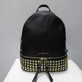 Кожаный рюкзак с заклёпками Michael Kors оригинал Америка