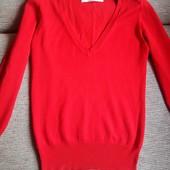 Оригинальний тонкий джемпер от Zara, разм. XS-S