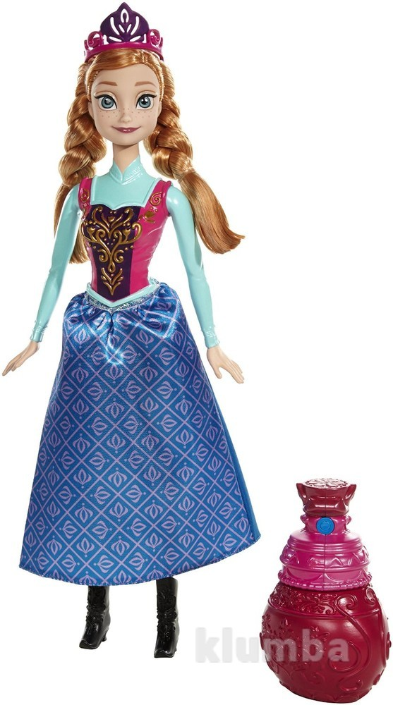 Кукла принцесса анна холодное сердце. измени цвет. маттел фото №1