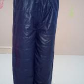 Детские штанишки на флисе 98-104-110-116