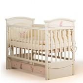 Гарантия 2 года! Кроватка для новорожденных Миша с фотопечатью, укр. производитель