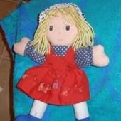 464. кукла - забавная мягкая игрушка - 27см.