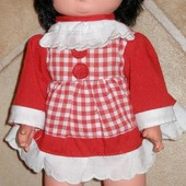 474.Кукла резиновая 32см.СССР 1975г.