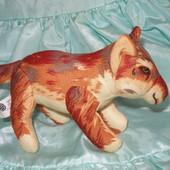 489. собачка мягкая, тканьевая.