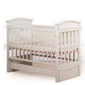 Гарантия 2 года! Кроватка для новорожденных Мишка цвет №6, укр. производитель