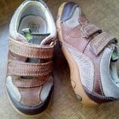 Дешевле!!! Кроссовки Clarks Вьетнам, кожа верх и стелька,р.6F