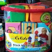 мягкие развивающие кубики K`s Kids