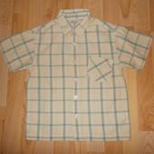 Рубашка з коротким рукавом розмір 110 см.