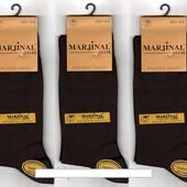 Носки мужские демисезонные Marjinal шёлковый хлопок с эластаном, антибактериальные, без шва