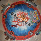 поле для игры в  Bakugan