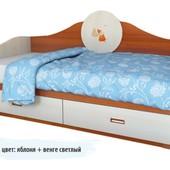 Гарантия 2 года! Детский диван 2 ящика, 90х190 см, укр. производитель