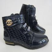 Распродажа  лаковые ботиночки 29 р на 18 см