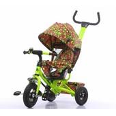 Велосипед трехколесный T-351-4 Tilly Trike Салатовый