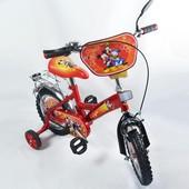 Велосипед Микки Маус 12 Bт-Cв-0001 красный с черным, система: One piece crank