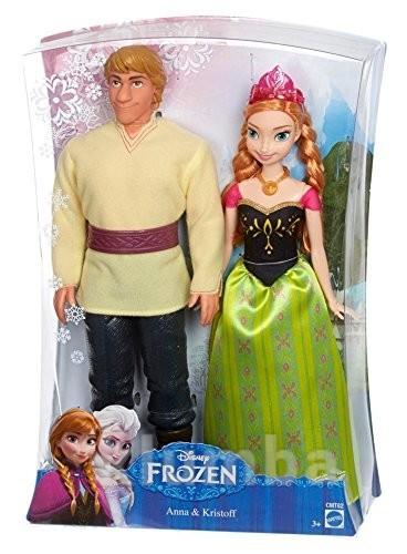 Disney frozen anna and kristoff набор кукол анна и кристофф фото №1