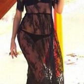 Пляжное кружевное платье в наличии