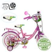 Велосипед детский 14 дюймов Lt 0051-02 W Лунтик