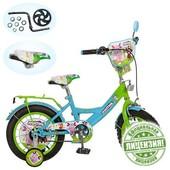 Велосипед детский 14д. LT 0051-01 Лунтик