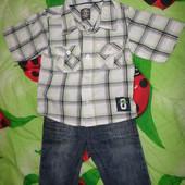 Набор одежды для мальчика + подарок. Отличное состояние!