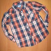 """Рубашка """"F&F"""" размер 2-3 года. Рост 98 см.Сост. идеальное."""