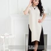 Платье из костюмной ткани