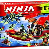 Конструктор бела 10402 ниндза ninja bela 1265 деталей
