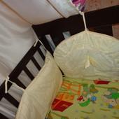 Продам защиту на кроватки для двойняшек и близняшек