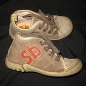 крутые кожаные деми ботинки, стелька=16 см, Stones and Bones
