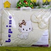 Комплект детского постельного белья Bepino с вышивкой, много видов!