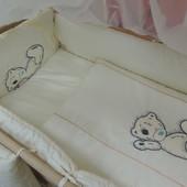 Комплект постельного белья для детей «Bonna» с вышивкой