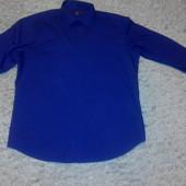 Рубашка чернильного цвета Next р. L (43 см ворот)