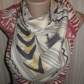 красивый элегантный платок 100% шёлк