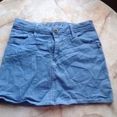Джинсовая юбка фирмы H&M размер 152