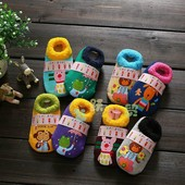 Махровые антискользящие носки детские Dear Baby