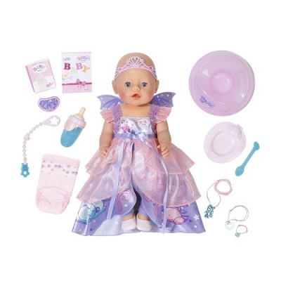 Zapf запф кукла baby born серии нежные объятия принцесса фея 43 см пупс беби борн девочка малышка фото №1