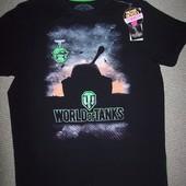 футболки 3Д светятся в темноте Valimark L World of tanks